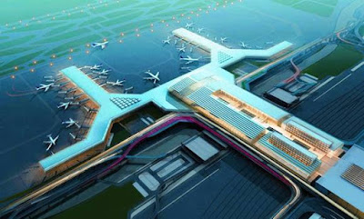 Bandara Internasional Pudong Shanghai (3.350 ha)