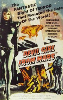 Retro Sci-Fi Weekend:  'Devil Girl From Mars' border=