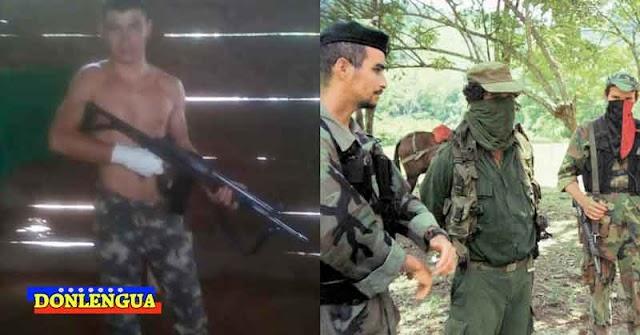 FARC somete con armas largas a los pobladores de El Cobre en el Táchira