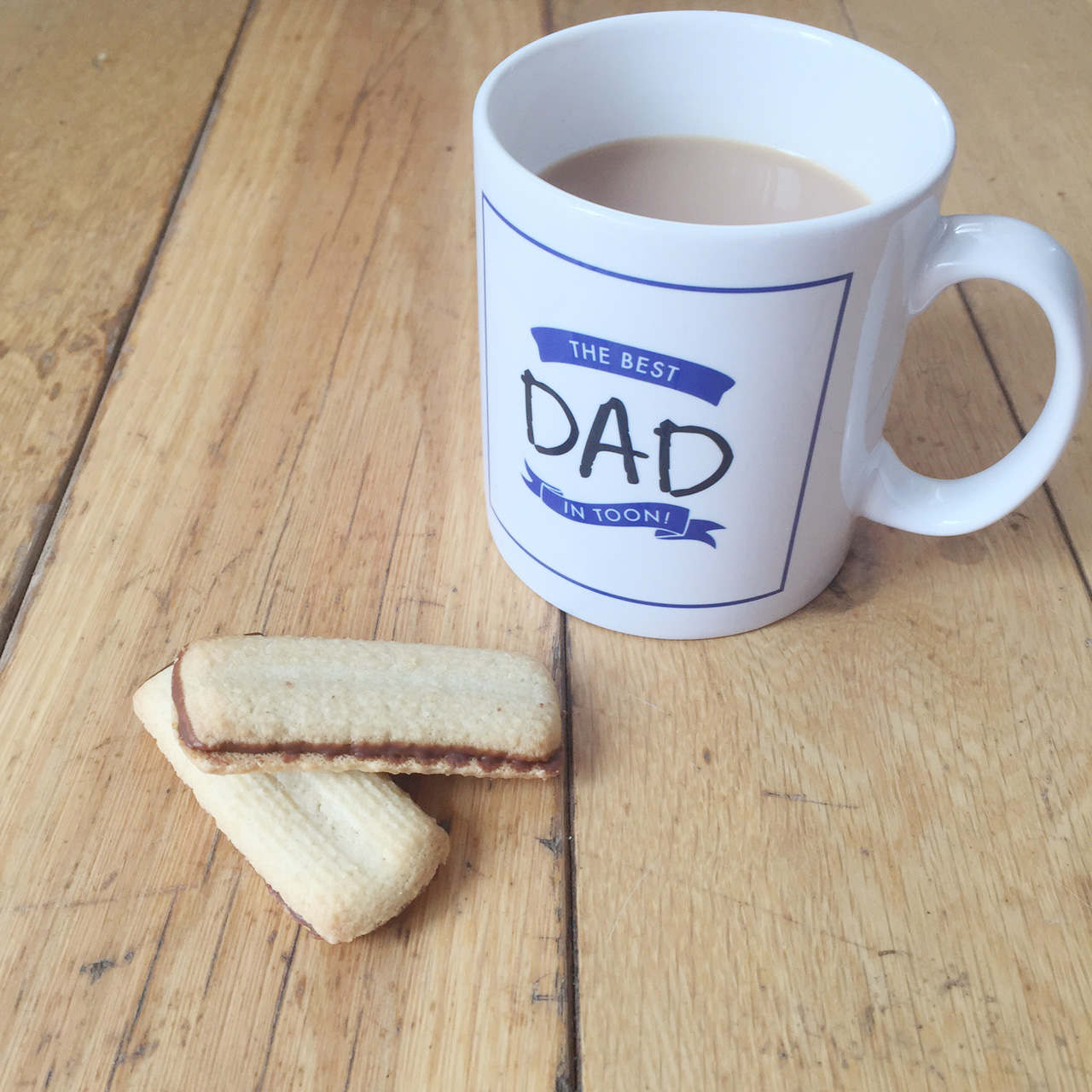 10 Father's Day Gift Ideas with a North East Twist - Best Dad in Toon Mug