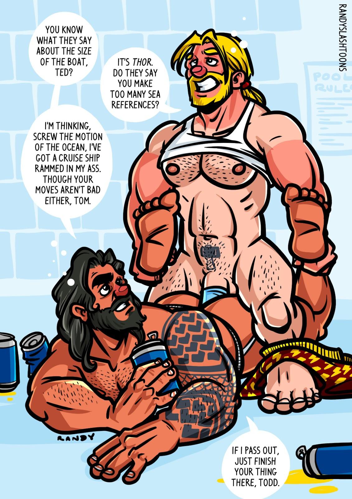 Randytoons Thor  Aquaman-3057