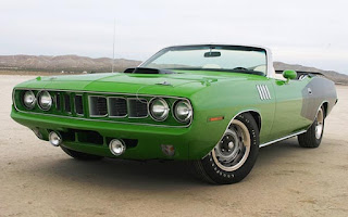 1971 Plymouth 426 HEMI Cuda Convertible Front Side Picture