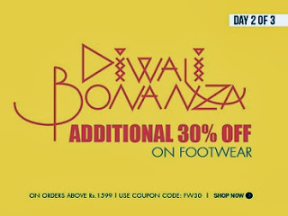Flat 30% additional Off on Footwear (Men / Women) on Cart Value of Rs.1599 at Myntra