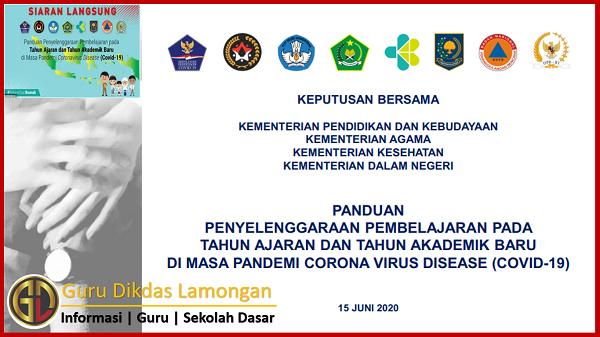 Simak Penjelasan dan Download Panduan Penyelenggaraan Pembelajaran Tahun Ajaran Baru Masa Pandemi Covid