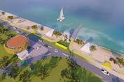 Wajah Baru Pantai Sayang Heulang Garut Liburan Tahun Baru 2020