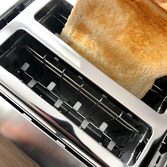 Goldenes Toast