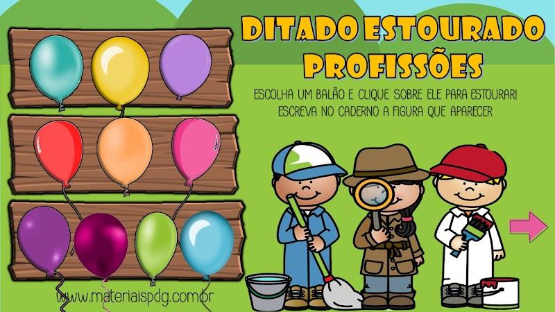 DITADO ESTOURADO - PROFISSÕES