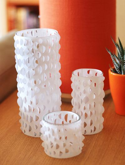 diy cut paper candle holders how about orange With best brand of paint for kitchen cabinets with paper candle holder template
