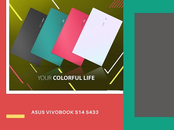 ASUS VivoBook S14 S433 Laptop Smart And Trendy For Gen Z