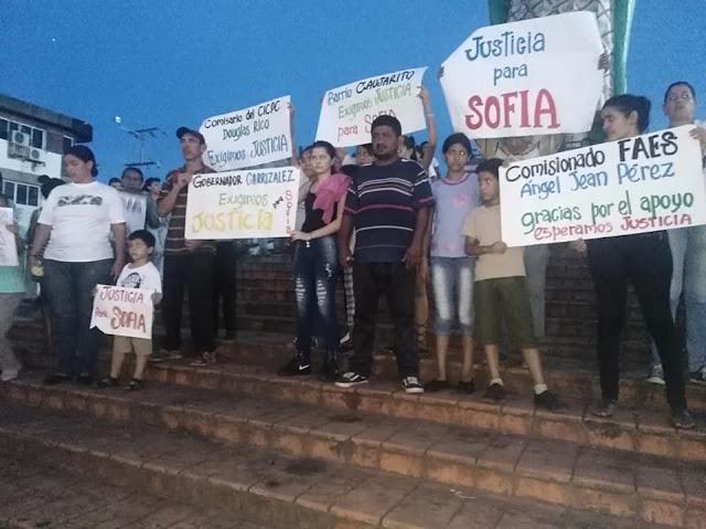 APURE: Familiares y amigos exigieron justicia para niña de 8 años violada y asesinada en San Fernando. VIDEO/FOTOS.
