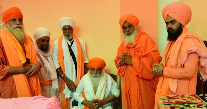 A samagam in the memory of Sant Daya Singh Ji held on the banks of Holy Kali Bein