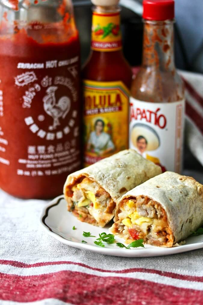 Freezer Breakfast Burritos (Make Ahead)