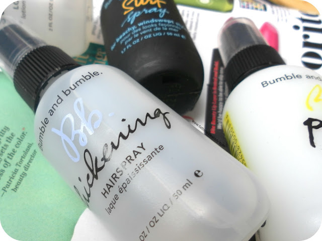 A picture of Bumble and Bumble Travel Sizes