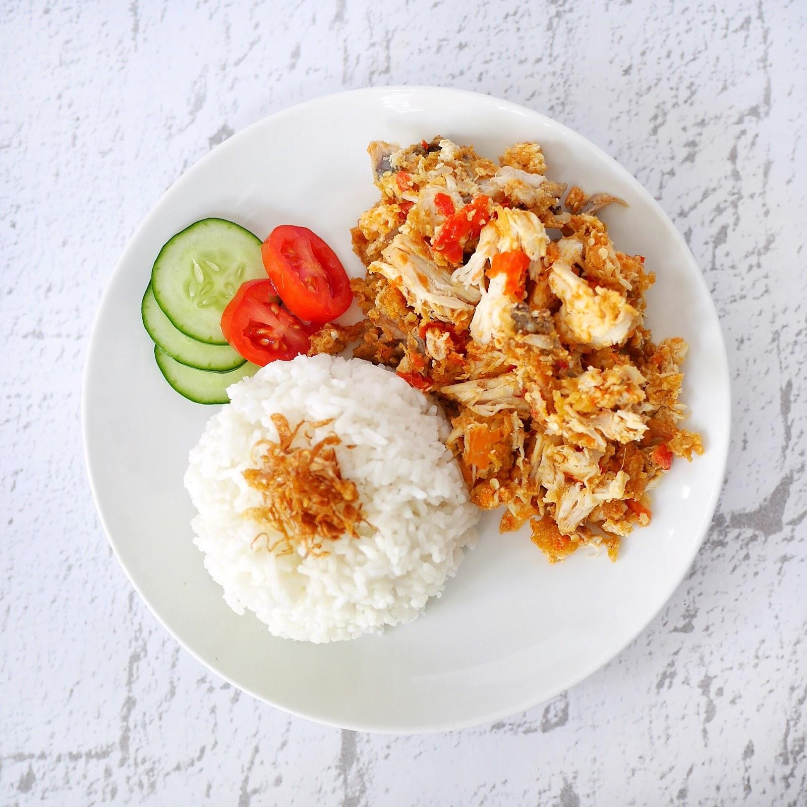 Resep: Ayam Geprek a'la Jogja | HeyTheresia - Indonesian Food & Travel Blogger