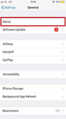 Cara Cek IMEI HP iPhone 2