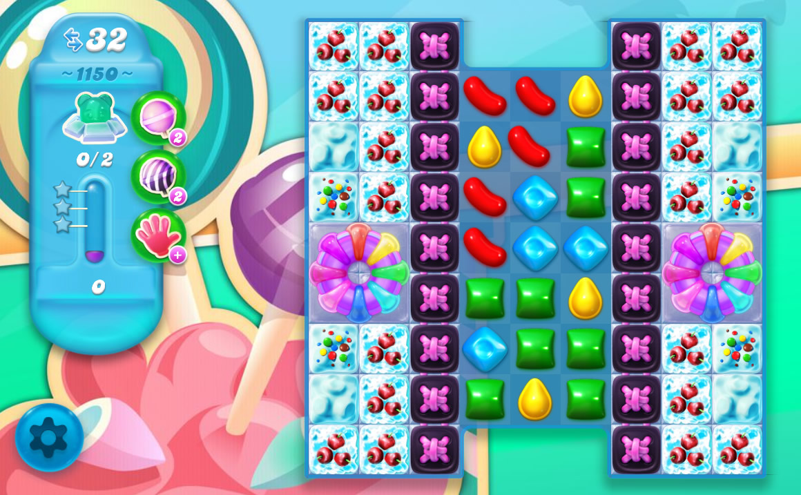 Candy Crush Soda Saga level 1150