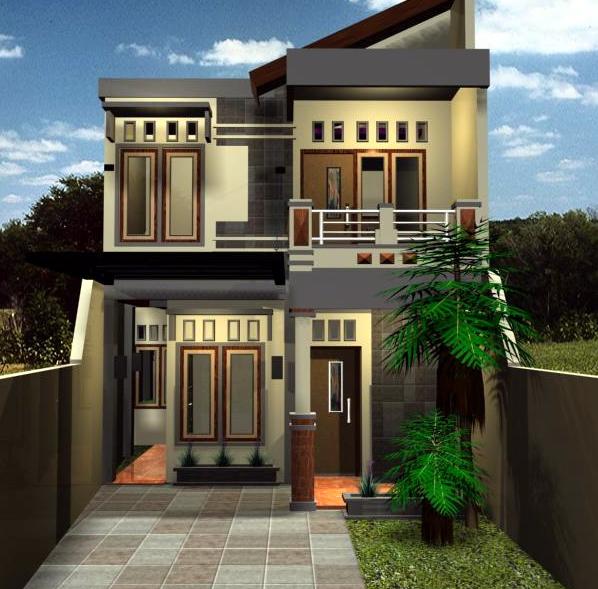 Desain Rumah Tingkat Minimalis 2 Lantai Type 60, 36, 45 ...