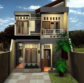desain rumah minimalis terbaik: desain rumah tingkat