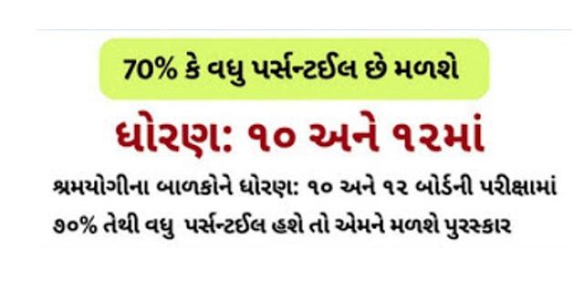 Gujarat Labour Welfare Board Educational Award Scheme Application Form