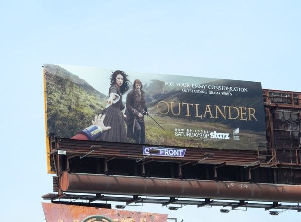 Outlander 2015 Emmy billboard