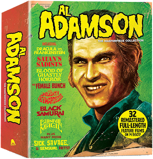 Severin Films' AL ADAMSON: THE MASTERPIECE COLLECTION is Vault Master's Pick of the Week for 06/09/2020!