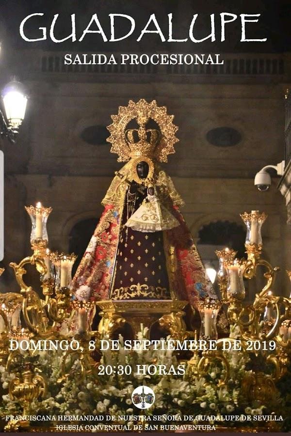 Presentado el Cartel anunciador de la salida procesional de la Franciscana Hermandad de Nuestra Señora de Guadalupe (Sevilla).
