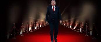 Στρώνουν κόκκινο χαλί στον Ερντογάν