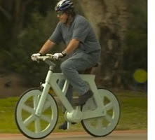 Ideas de negocios bicicleta de cartón