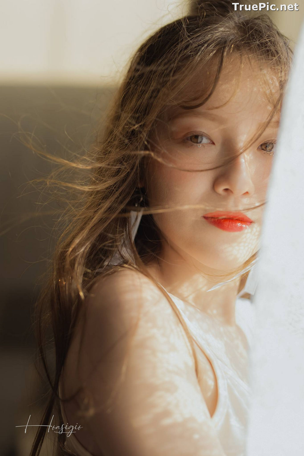 Image Vietnamese Model - Tuyet Son - White Skin and Red Lips - TruePic.net - Picture-9