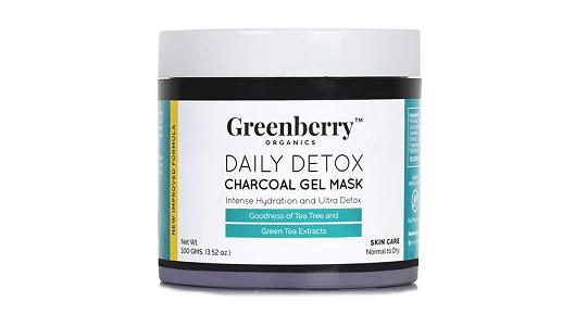 Greenberry Organics Daily Detox Charcoal Gel Mask