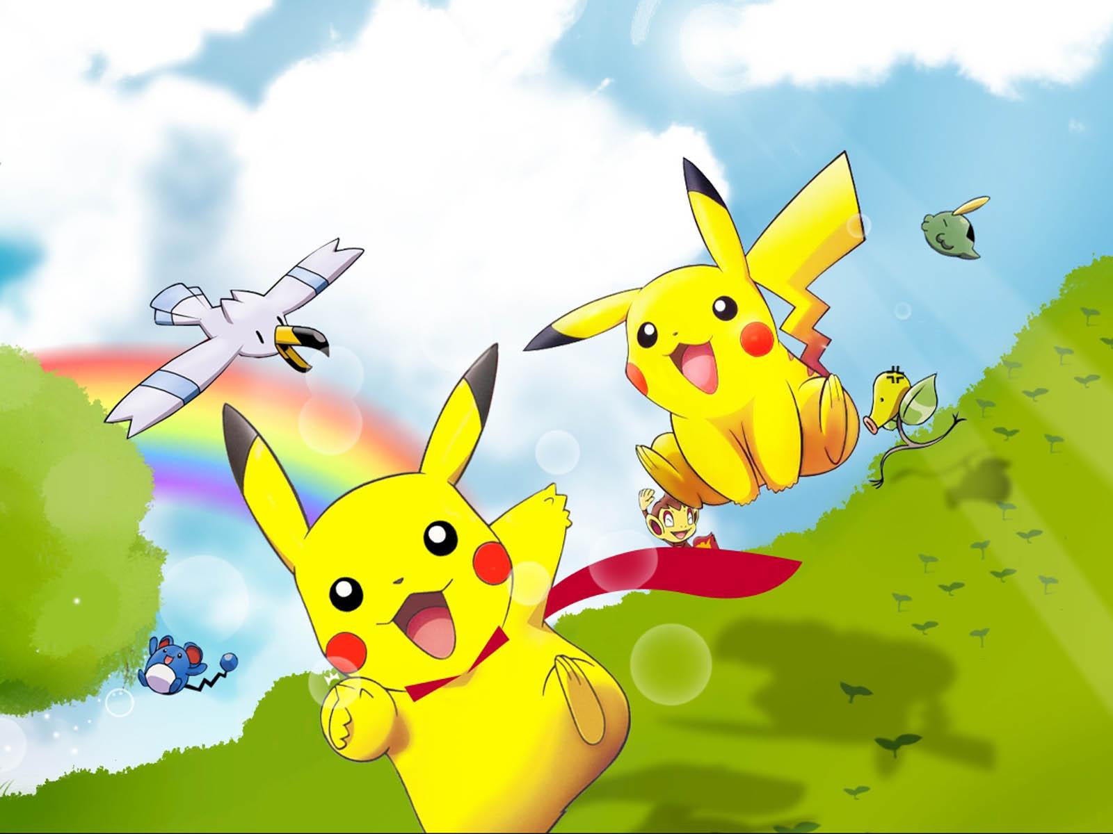 pikachu pokemon wallpaper - photo #2