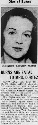 Christine Conniff Dead