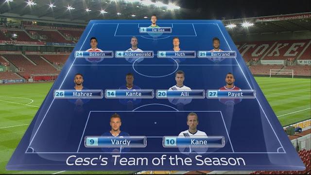 Fábregas escalou a sua Seleção da Premier League, e montou um timaço