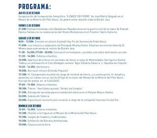 Programa Burdin Jaia 2019