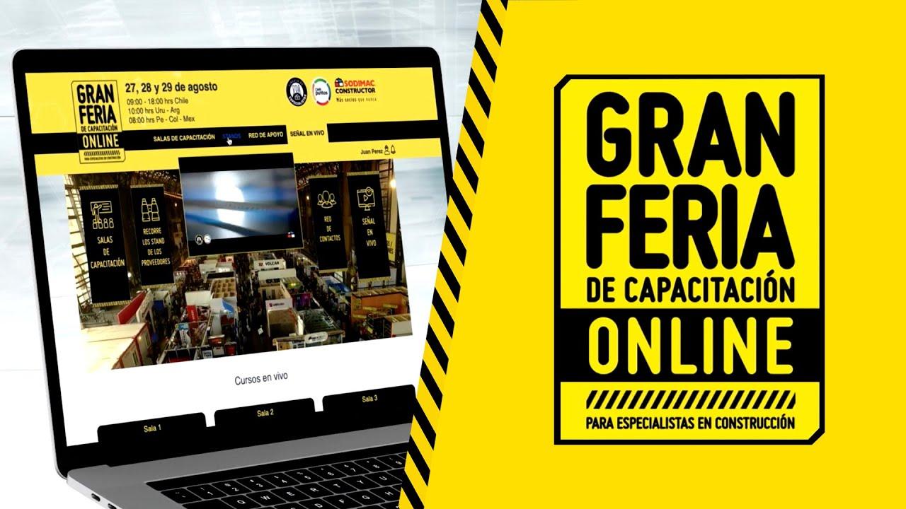 https://www.notasrosas.com/Constructor realizó primera versión internacional de La Gran Feria de Capacitación Virtual
