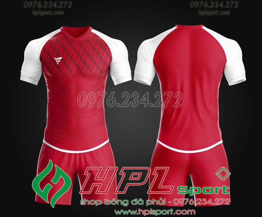 Áo ko logo TA Spe màu đỏ