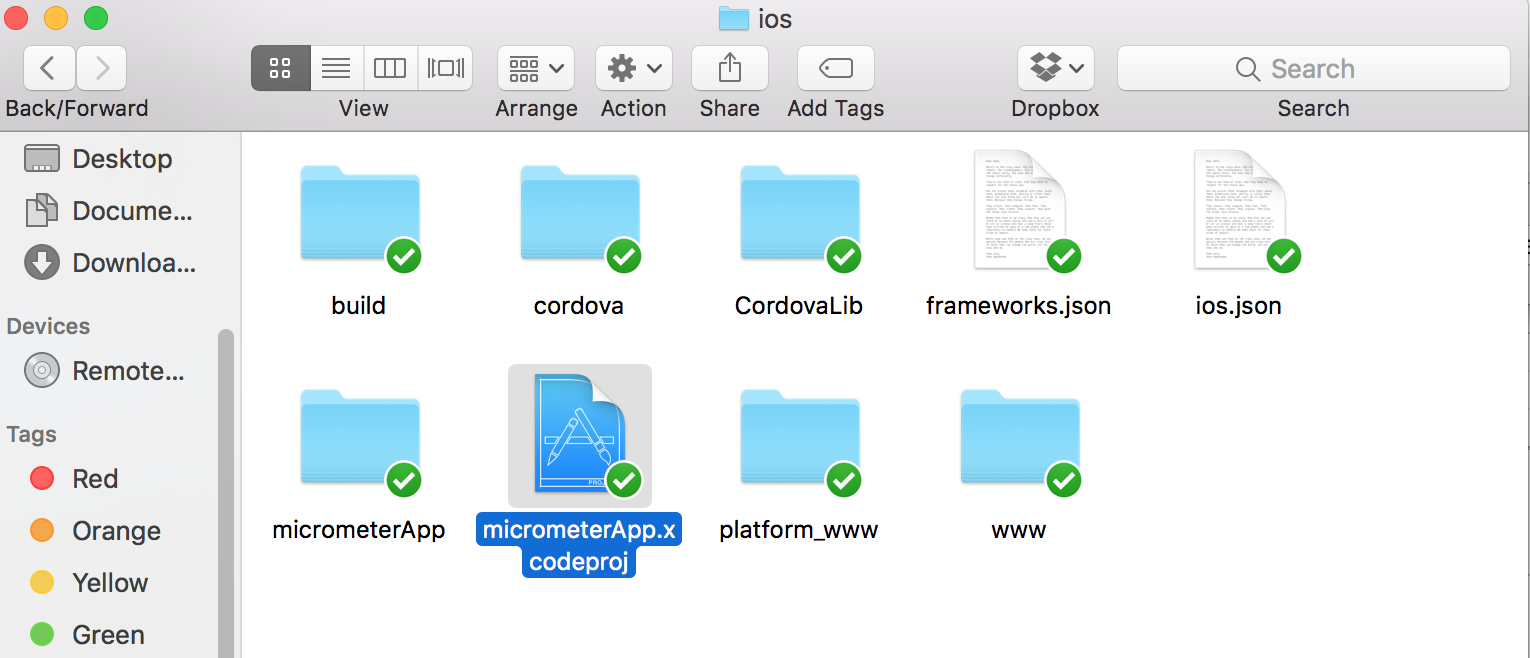 How to build iOS app from ionic projects | Open Source