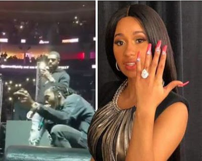 See Twitter Reacts To Offset and Cardi B Engagement