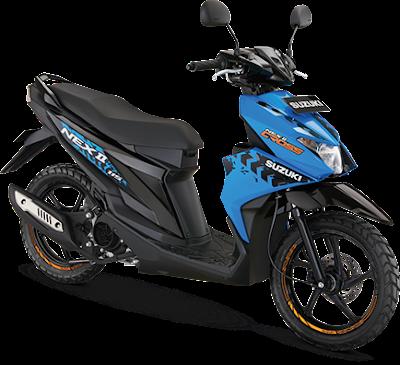 Perbedaan Suzuki Nex II Cross Standar dan Accessories