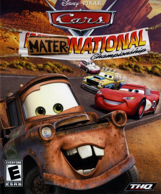 Car Games: Cars Mater National Championship PC Game Download