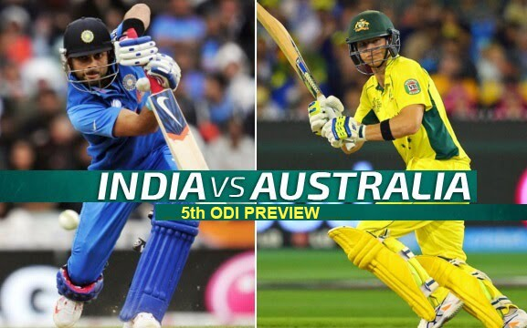 India vs Australia Live Cricket Score, 5th ODI Preview