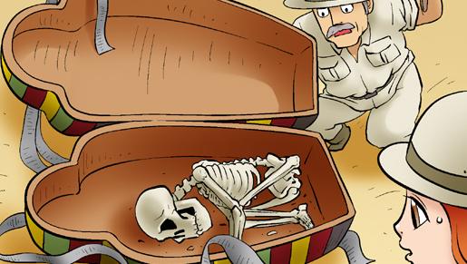 Kim Chi & Củ Cải (bộ mới) phần 353: Xác ướp Ai Cập