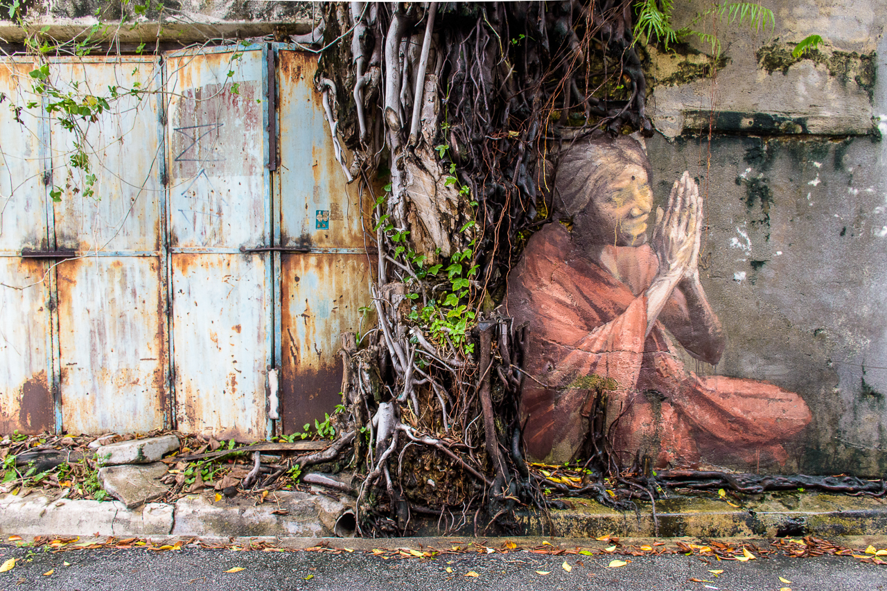 graffiti street art in penang malaysia georgetown