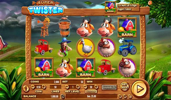 Main Gratis Slot Indonesia - Super Twister Habanero