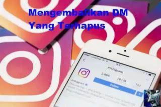 3 Cara Mengembalikan DM  (pesan) Instagram Yang Terhapus di iPhone / Android