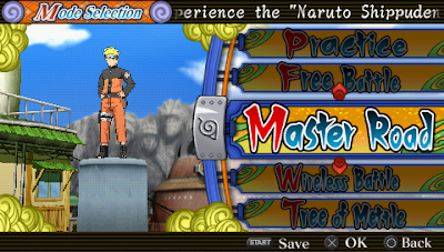 Download Naruto Shippuden Ultimate Ninja Heroes 3 (CSO ISO) PPSSPP