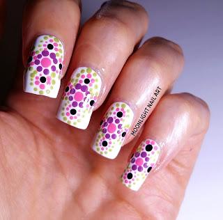 Mandala Nail Design