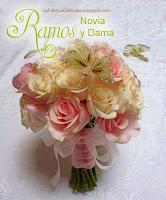 decorador floral ramo de novia 15 con mariposas de plumas rosado verde tema romantico . Boda tema shabby chic, boda rosado en guatemala