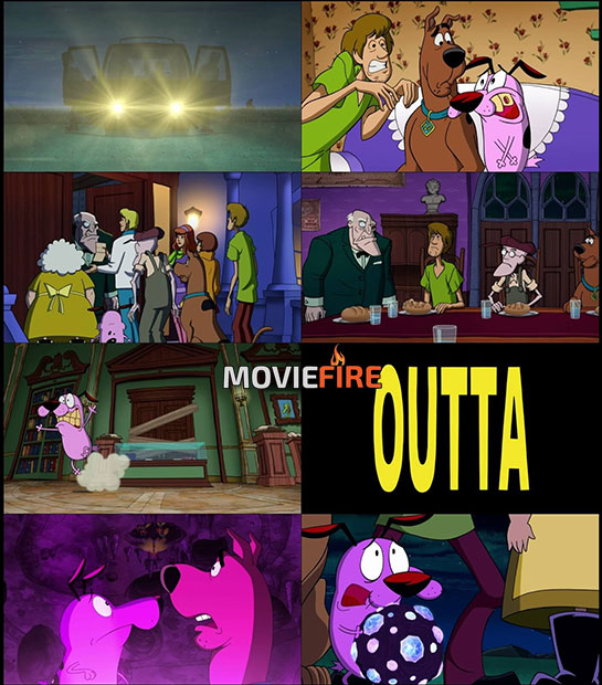 Straight Outta Nowhere: Scooby-Doo! Meets Courage the Cowardly Dog (2021) 1080p
