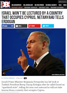 Netanyahu to Erdogan for Cyprus